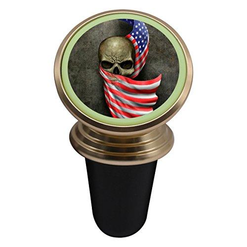 Vehicle Phone Mount Flag Skull Holder Magnetic Universal Cradle Stand Car Dashboard Mount Strong Magnets Smartphones Kits Women Men (Skeleton Jester)