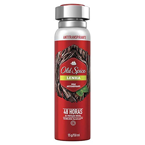 Desodorante Spray Antitranspirante Old Spice Lenha 150Ml, Old Spice