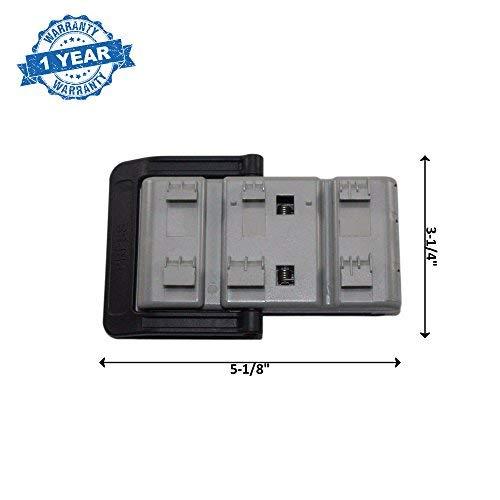 Amazon.com: DD82 – 01121B cesta lavaplatos Ajustador E6683 ...