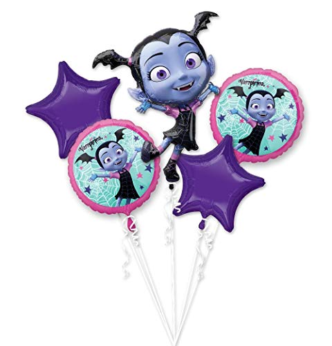 Anagram Vampirina 5 Balloon Bouquet Party Supplies Decorations for $<!--$9.99-->