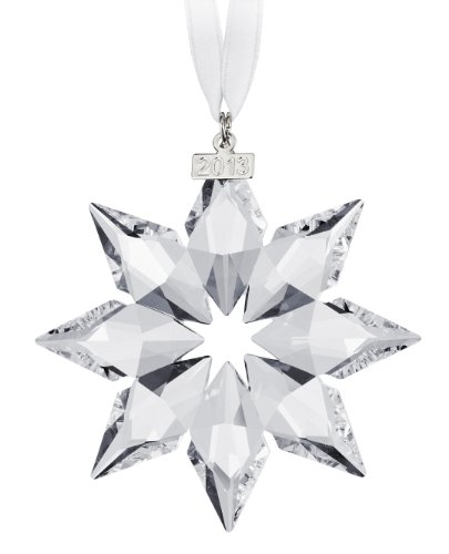 Swarovski 5004489 2013 Annual Edition Crystal Star Ornament, Clear