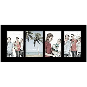 Amazon Adeco Pf0424 Decorative Black Wood Divided Picture