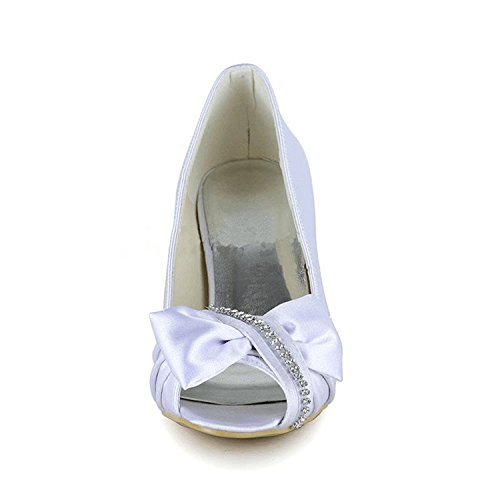 Fashion Kevin mujer boda fashion blanco de Zapatos p0rgp