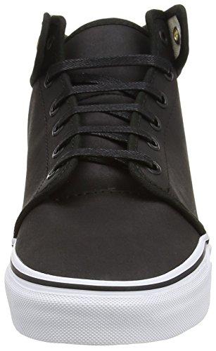 Black Mixte nubuck Black 106 Adulte Vans Baskets Basses Mid Noir Hvax6Cq