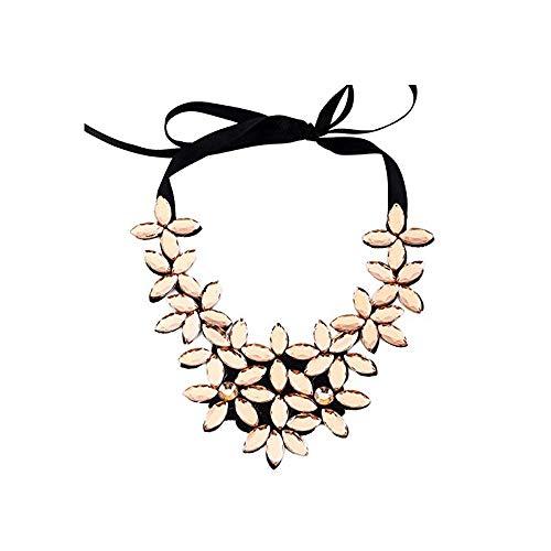Molyveva Vintage Boho Bib Statement Necklace Women Fashion Collar Bohemia Indian Costume Jewelry Colorful
