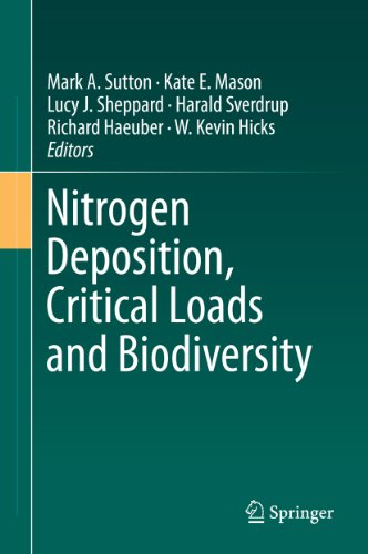 Nitrogen Deposition, Critical Loads and Biodiversity Pdf