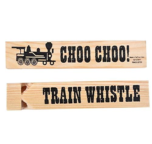 (Rhode Island Novelty Wooden Train Whistles)
