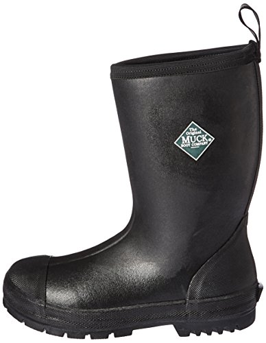 Muck Boot Men's Chore Resistant Mid Work Boot, Black, 13 M US by Muck Boot (Image #5)
