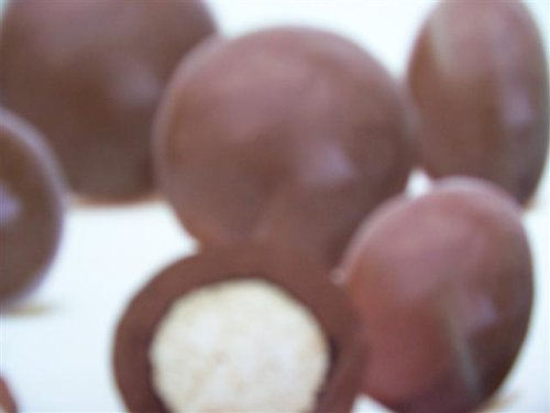 Milk Chocolate Covered Malt Balls, Gourmet Quality, 1 Lb - Gourmet Chocolate Malt Balls