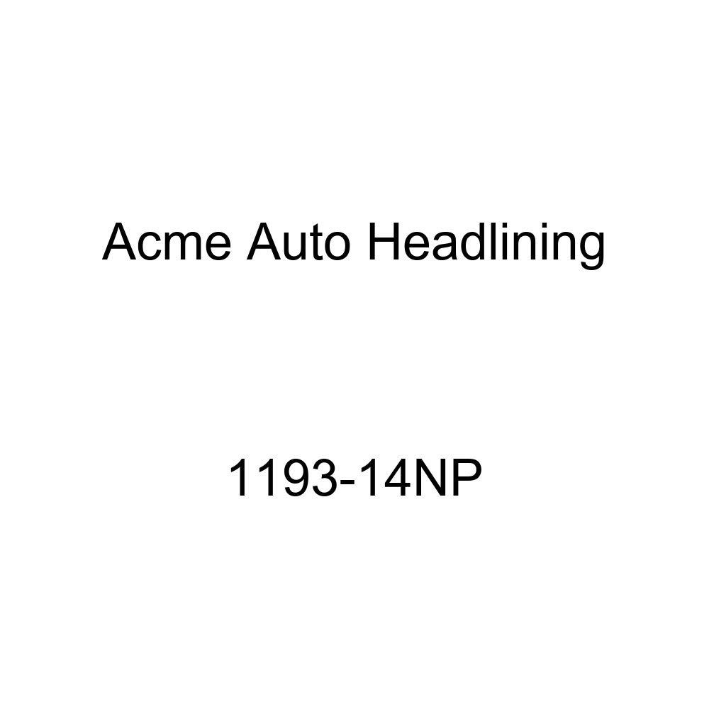 1959 Buick Electra 4 Door Sedan 7 Bows Acme Auto Headlining 1193-14NP Camel Replacement Headliner