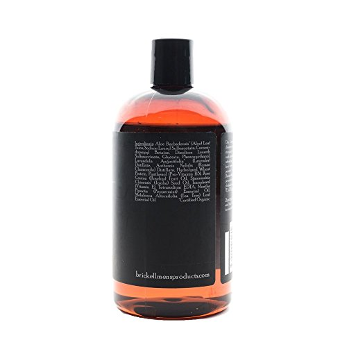 Brickell Men's Invigorating Mint Body Wash for Men – 16 oz – Natural & Organic by Brickell Men's Products (Image #5)