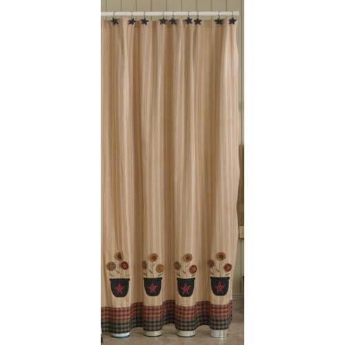 Amazon.com: Bowl of Flowers Shower Curtain