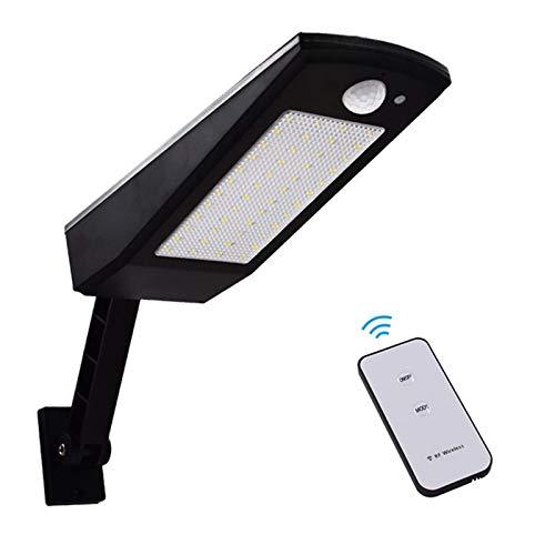 Luz Solar,48 LED 4500mAh 900lm IP65 Impermeable Luces de Seguridad al Aire Libre con