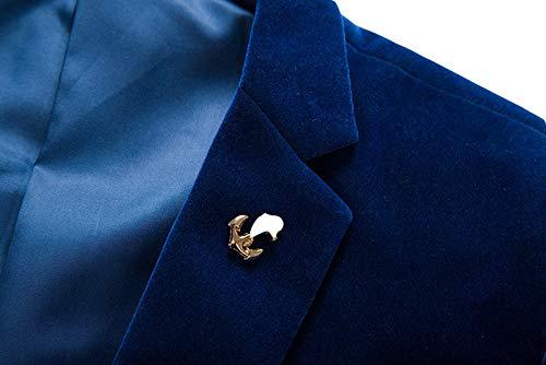 Invachi Veste Bleu Costume De Homme 4W4prdq