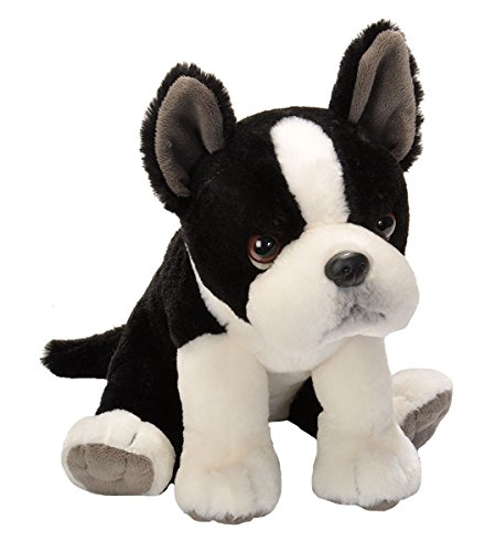 (Wild Republic, Boston Terrier Plush, Stuffed Animal, Plush Toy, Gifts for Kids, Pet Shop, 11