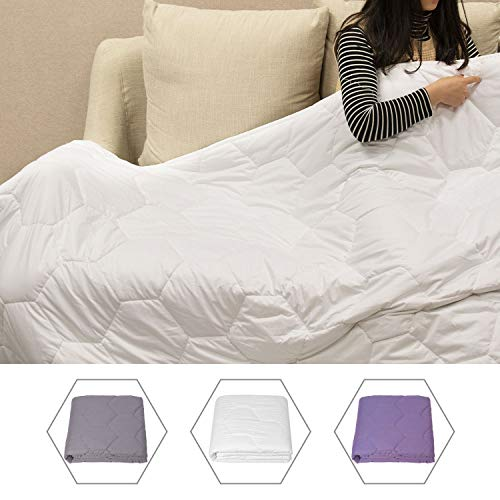 Cheap KeeVigo Weighted Blanket 15 lbs 48