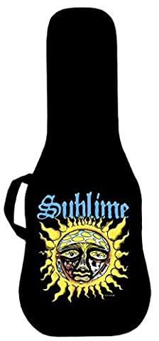 Official Sublime Classic Sun Logo Electric Guitar Case. Printed panel is interchangeable (Acoustic Guitar Phitz)