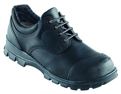 Fiche euro + dan, fermé, avec capuchon en acier Chaussures de sécurité S3SRC