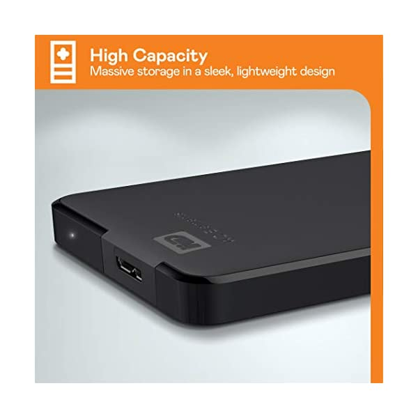 WD 5TB Elements Portable, Hard Disk Esterno Portatile, USB 3.0 4 spesavip