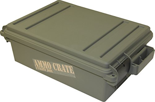 MTM ACR4-18 Ammo Crate Utility Box,Green,Medium