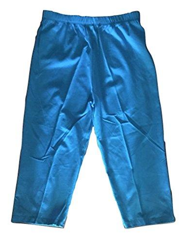 Cotton Jersey Knee Pants - LC brand Womens Cotton Spandex Below Knee Capri Shorts Sizes S-5XL