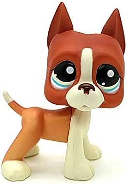 LPS Littlest Pet Shop Custom OOAK Dane dog Pink Hand Painted Figure