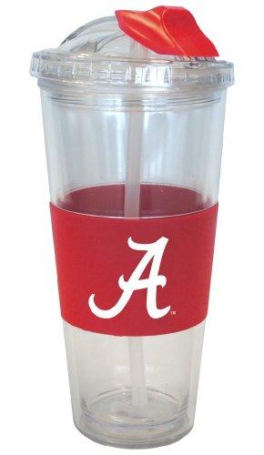 - Boelter Brands Alabama Crimson Tide No Spill Straw Tumbler