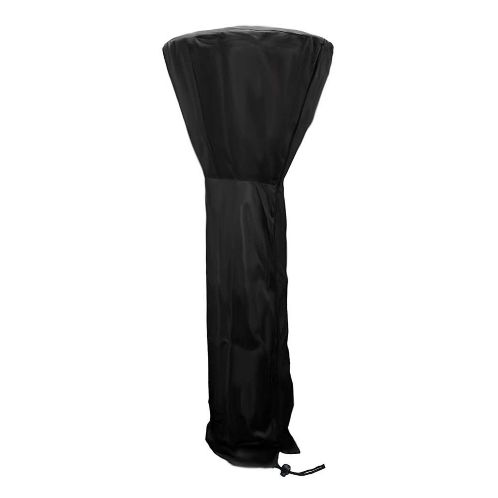 2pcs- 210D Oxford Cloth Heater Cover, Garden Patio Lightweight Heater Waterproof Windproof Canopy Terrace Dust Cover, Black (Color : Black, Size : 221×85×478cm) by HYDT