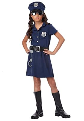 California Costumes Police Officer Child Costume
