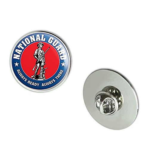 NYC Jewelers Round National Guard ALWAYS READY ALWAYS THERE Seal (logo insignia army) Metal 0.75