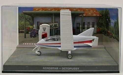 Acrostar Mini Jet moul/é sous Pression Mod/èle Avion /à partir de James Bond Octopussy