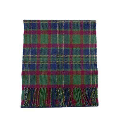 (USA Kilts Irish County Cork Wool Tartan Plaid Scarf Made in)