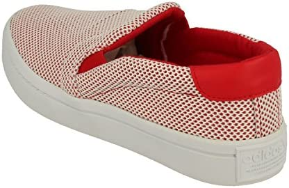 adidas - Courtvantage Adicol Colredftwwhtcolred - S81871 - Couleur: Blanc-Rouge - Pointure: 37 1/3 EU