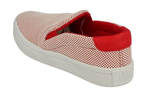 De On Mujeres Calzado Court zapatillas Rojo Adidas Deporte Slip HPxZRw