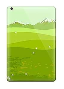 Tpu Case For Ipad Mini/mini 2 With Pretty Green Painting
