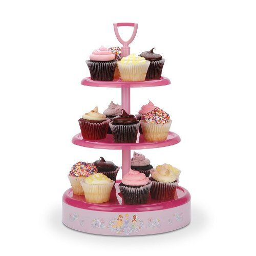 Disney DP-3 3 Dessert Tray, One Size, Pink by Disney