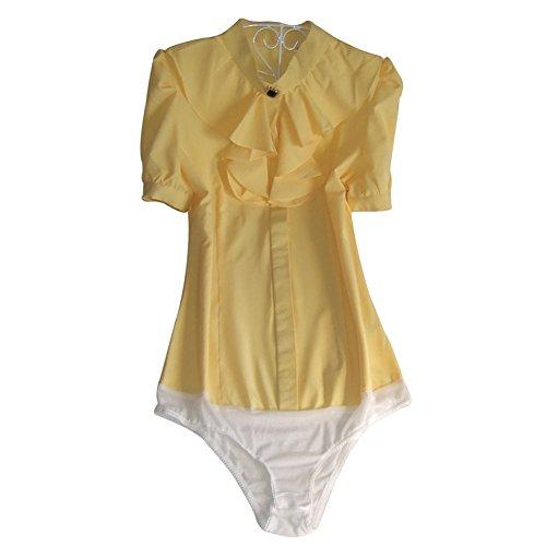 ZAMME - Camisas - Básico - para mujer Yellow A