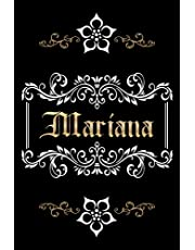 PERSONALIZED MARIANA GIFT: Mariana Name Journal (Novelty Lined Notebook - Card Alternative)