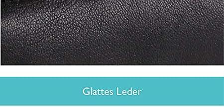 Clairefontaine 8303C Une trousse ronde 18 cm diam/ètre 3,5 cm en cuir naturel
