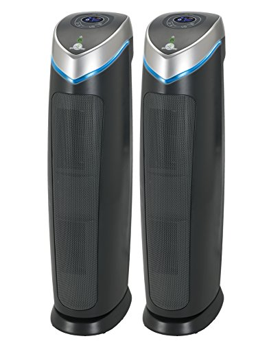 GermGuardian AC5250PT 3-in-1 Air Purifier (2 Pack) by Guardian Technologies