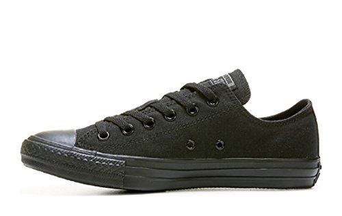 Samtala Unisex Kastar Taylor All Låg Topp Svarta Monokroma Sneakers - 3,5 Män 5,5 Kvinnor