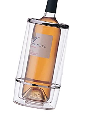 Prodyne Acrylic Iceless Wine Cooler, Clear
