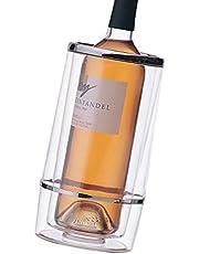Prodyne A-401 Acrylic Iceless Wine Cooler, Clear