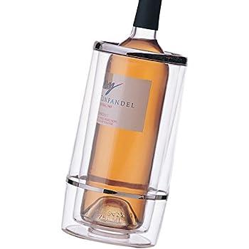Prodyne Acrylic Iceless Wine Cooler, Clear