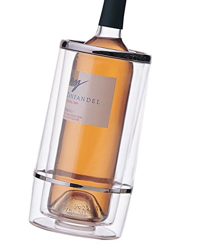 Prodyne A-401 Acrylic Iceless Wine Cooler, Clear