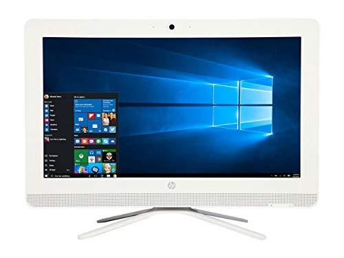 - HP 20 All-In-One AIO Desktop Computer (19.5 Inch HD+ LED, AMD Quad-Core 1.8GHz CPU, 4GB DDR3 Memory, 1TB HDD, DVD RW, USB3.0, Wifi, Bluetooth, Windows 10, White (Renewed)
