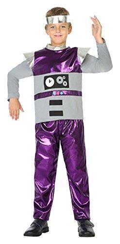 ATOSA 39398 Robot Costume u2013 104 cm  sc 1 st  Amazon UK & ATOSA 39398 Robot Costume - 104 cm: Amazon.co.uk: Toys u0026 Games