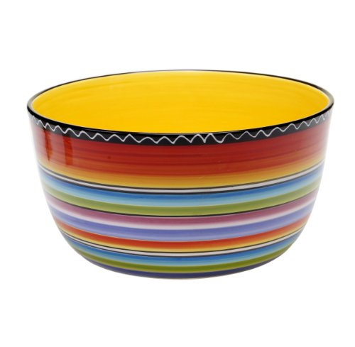 (Certified International Tequila Sunrise Deep Bowl, 10.75 by 5.5-Inch)
