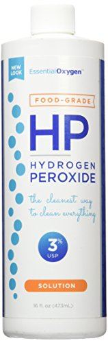 Essential Oxygen Plus Hydrogen Peroxide 3% Food Grade, 16 Ounce