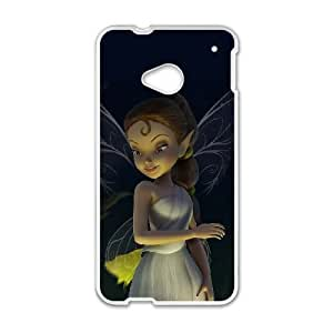 HTC One M7 phone cases White Tinker Bell cell phone cases Beautiful gifts UREN2404055